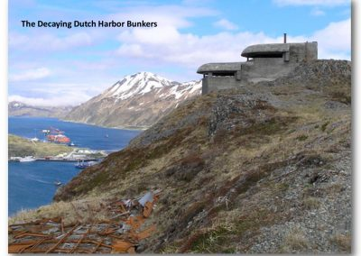 Decaying Dutch Harbor Bunkers