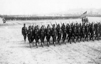 87th Division Parade, Camp Pike, March 11, 1918