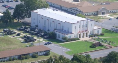 Aerial view of Arkansas National Guard Museum