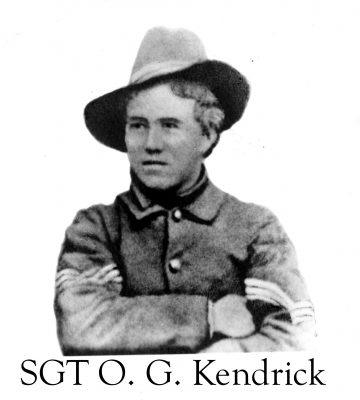Sgt. O. G. Kendrick