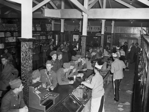 Canteen on Camp Robinson