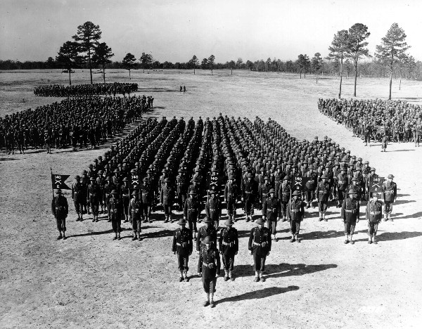 35th Division Parade