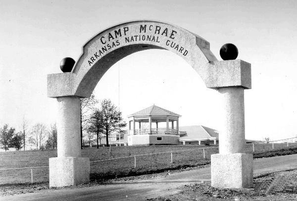 Camp McRae Arch