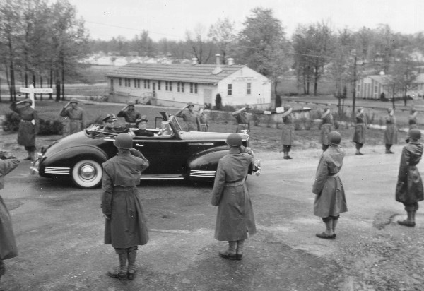 President Roosevelt visited